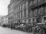 Headquarters of the French Red Cross  21 Rue Francois 1er  Paris  1914
