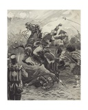The Death of Edward Pakenham at the Battle of New Orleans