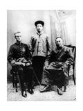 13th Dalai Lama  Sir Charles Bell and Maharaj Kumar Sidkeong Trul-Ku  1910