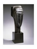 Head of a Woman with a Fringe; Tete de Femme a La Frange  1912