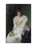 Portrait of Mrs Charles Beatty Alexander (Nee Harriet Crocker)  1902