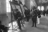 Mobilised Soldiers Sending their Last Letter before Leaving  Gare de l'Est  Paris  1914