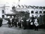 Newspaper Vendors in St Petersburg  1913