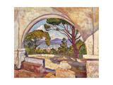 Saint Tropez  Vue de La Chapelle St  c1920