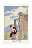 Paestum  from 'Falbalas and Fanfreluches  Almanach des Modes Présentes  Passées et Futures'  1925