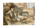 Woman on a Couch; La Dame Au Canape  c1927