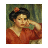 Young Woman with a Rose; Jeune Fille a La Rose  1907