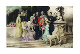 The Silver Anniversary of the Imperial Family  1906