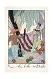 La Belle Indolente  from 'Falbalas and Fanfreluches  Almanach des Modes Présentes  Passées et…