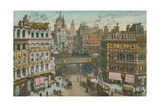 Postcard of Ludgate Circus  London  Sent in 1913