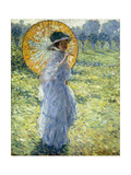 Woman with a Parasol  c1906