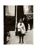 Dominick Carroll  Newsboy  Philadelphia  Pennsylvania  c1910