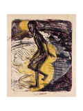 Man Rising from the Sea; Ins Meer Seigender Mann  1913