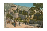 Castle Postcard Sent in 1913