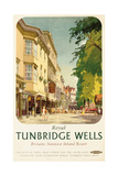 Royal Tunbridge Wells  Poster Advertising British Railways
