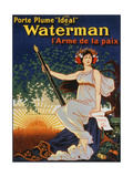 Carry the 'Ideal' Waterman Pen - the Weapon of Peace  1919