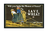 Save Wheat  1918