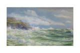 Oceans  Mists and Spray  c1900