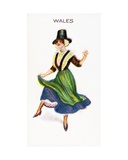 Wales  Cigarette Card  1915
