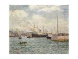 Le Port Du Havre  1905