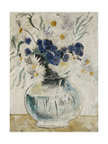 Daisies and Cornflowers in a Glass Bowl  1927