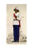 Company Sergeant-Major of the British Guiana Military  1938