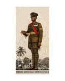 Sergeant-Drummer of the British Honduras Defence Force  1938