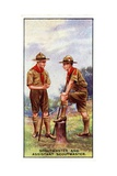 Scoutmaster and Assistant Scoutmaster  1929