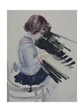 Girl at the Piano  1936