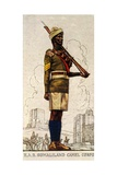 Sergeant of the Somaliland Camel Corps  King's African Rifles  1938