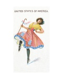 United States of America  Cigarette Card  1915