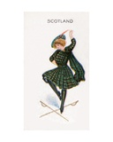 Scotland  Cigarette Card  1915