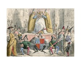 Coronation of Henry the Fourth (From the Best Authority)