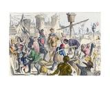 Embarkation of King Henry V at Southampton