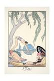Water  from 'Falbalas and Fanfreluches  Almanach des Modes Présentes  Passées et Futures'  1926
