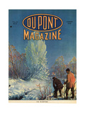Ice Blasting  Front Cover of the 'Dupont Magazine'  February 1919