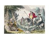 King Henry VIII Monk Hunting