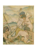 The Slaying of Orpheus  1914
