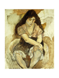 Young Woman Sitting; Jeune Fille Assise  1921