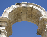 Arch at the Eastern End of the Tetrapylon  Aphrodisias  Turkey  2007
