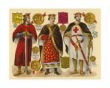 Victorian Scrap: King Stephen  King Henry II  King Richard I