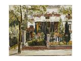 The Front Garden of the Steinbart Villa in Berlin; Der Vorgarten Der Steinbartschen Villa in…