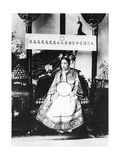 Empress Dowager Cixi of China  1904