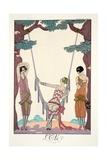 Summer  from 'Falbalas and Fanfreluches  Almanach des Modes Présentes  Passées et Futures'  1926