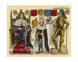 Victorian Scrap: King Edward IV  King Edward V  King Richard III