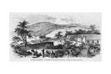 New Caledonia  Isle of Nou  the Prison  C1871-80