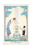 Spring  from 'Falbalas and Fanfreluches  Almanach des Modes Présentes  Passées et Futures'  1926