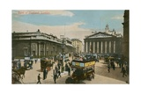 Bank of England  London Postcard Sent in 1913