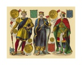 Victorian Scrap: King William I  King William II  King Henry I