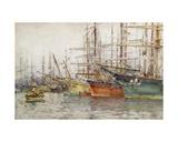 Genoa Harbour  1904